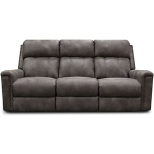 Power Double Reclining Sofa w/ Nails