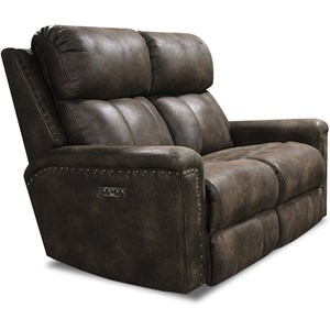 Power Double Reclining Loveseat w/ Nails