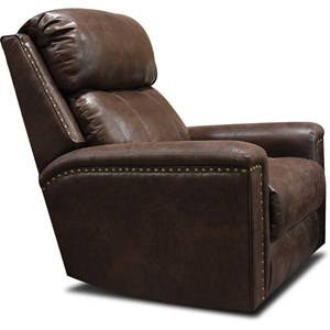 Swivel Glider Recliner with Nails