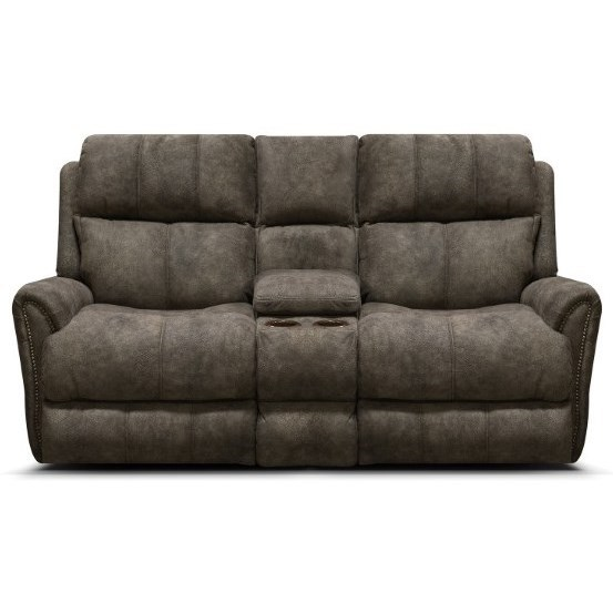 EZ9C00 Power Reclining Loveseat by England at Miller Waldrop Furniture and Decor