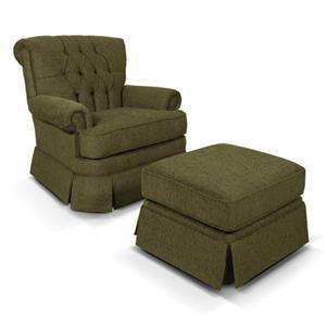 England Fernwood Chair & Ottoman