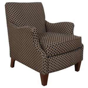 Decorative Accent Chair with Charming Transitional Style