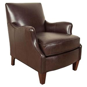 Transitional Accent Chair with Defined Den Room Look
