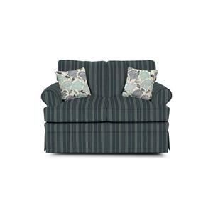 Loveseat Glider with Skirted Base