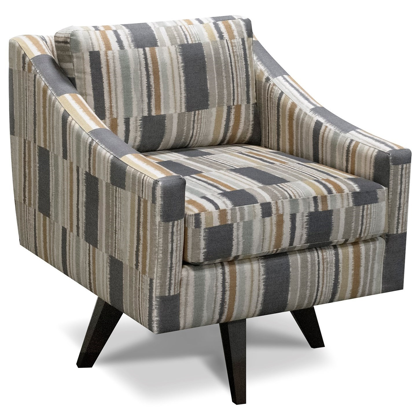 Henley Swivel Chair by England at Crowley Furniture & Mattress