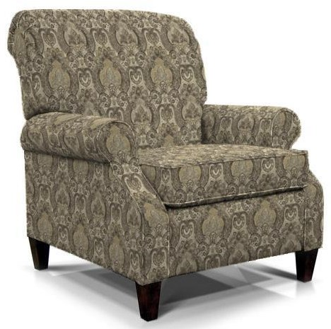 Highland View High Leg Recliner by England at Gill Brothers Furniture