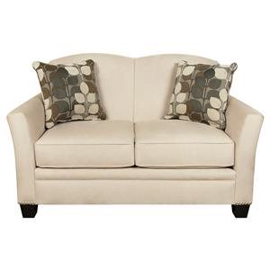 England Hilleary Loveseat with Nailheads