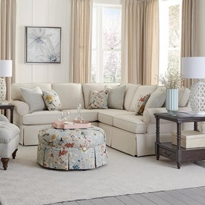 Traditional 2-Piece Sectional