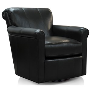 Swivel Chair with Transitional Style