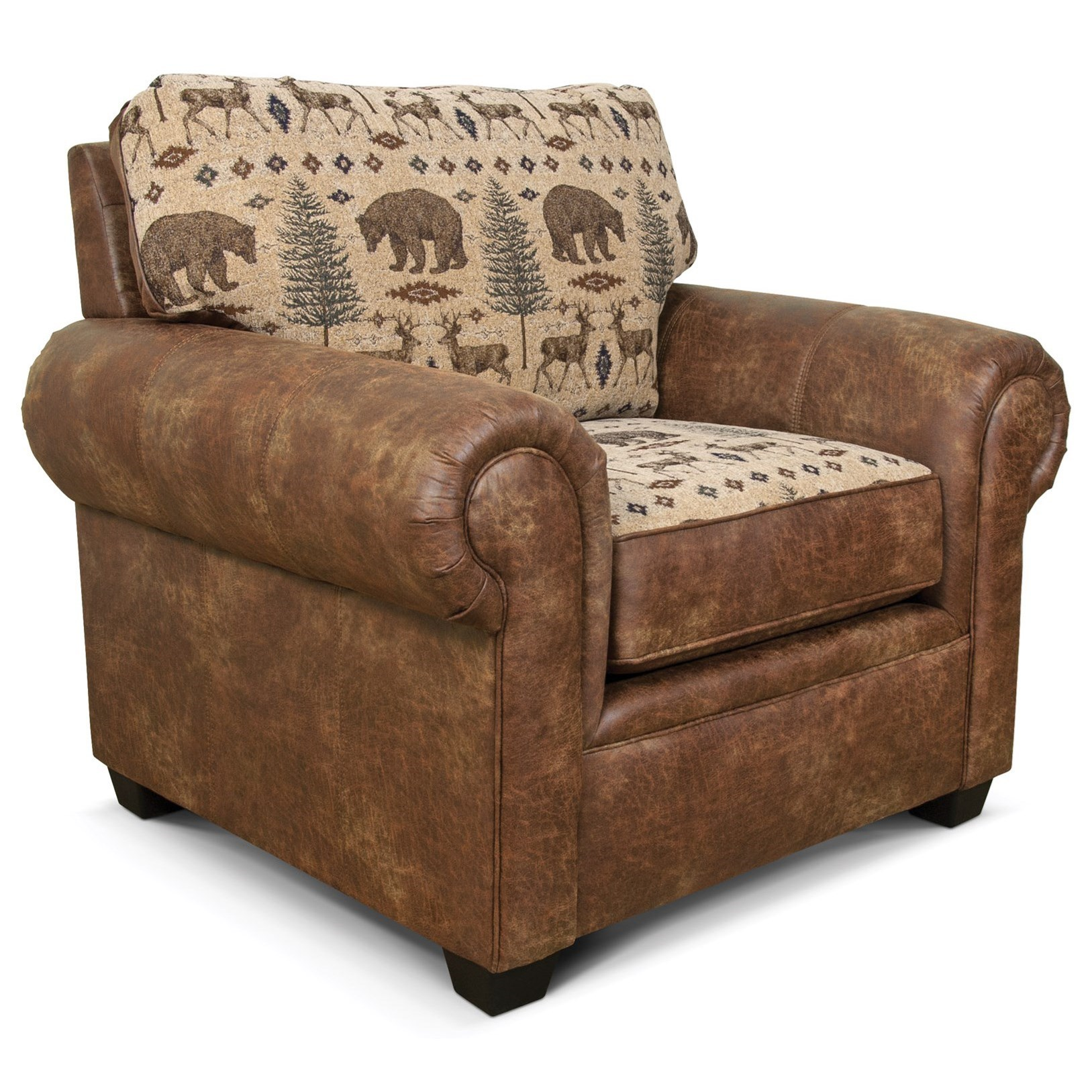 Gibson Upholstered Chair by England at EFO Furniture Outlet