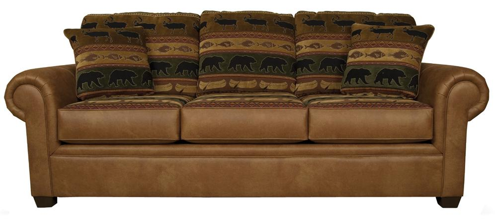 Jaden Stationary Sofa by England at Dunk & Bright Furniture