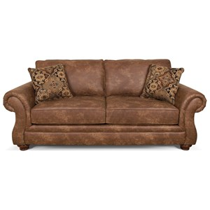 Traditional Queen Sleeper Sofa