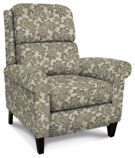 Cameron Hi-Leg Recliner by England at Crowley Furniture & Mattress