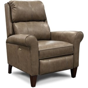 Traditional Leather Reclining Chair