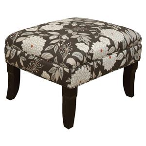 Ottoman with Formal Cottage Style