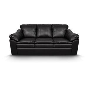 England Lackawanna Stationary Leather Sofa