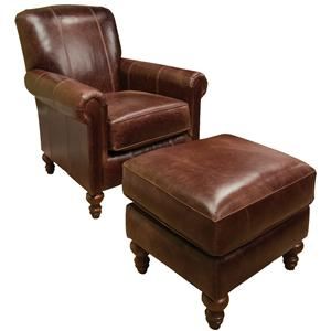 England Lane Chair and Ottoman