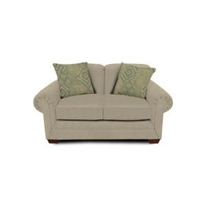 Traditional Styled Loveseat with Classic Sophistication