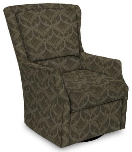 Caboose Swivel Chair by England at Crowley Furniture & Mattress