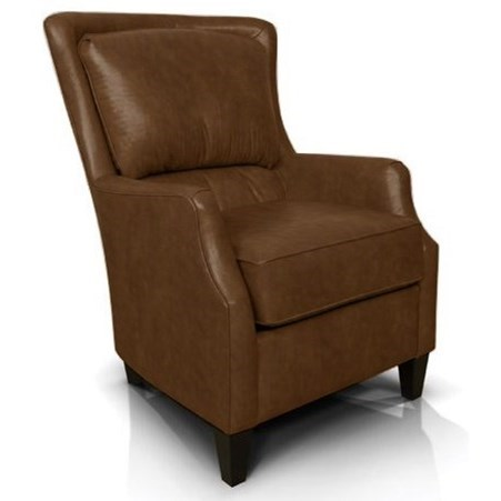 Louis Club Chair by England at Virginia Furniture Market