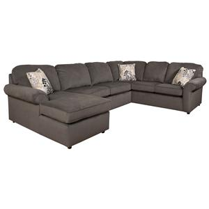 England Malibu 5-6 Seat (left side) Chaise Sectional