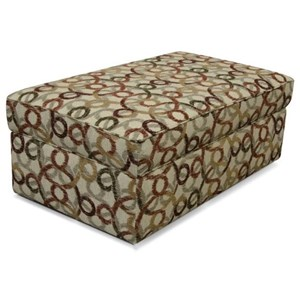 Living Room Storage Ottoman with Casual Style