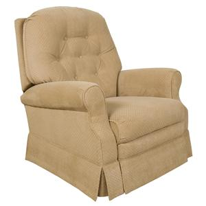 Traditional Styled Rocker Recliner with Power