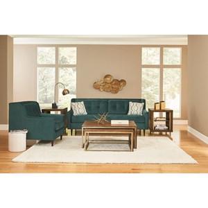 England Gramercy Park Living Room Group