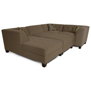 Sectional Sofa with 3-5 Seats