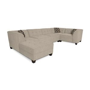 Sectional Sofa with 4-5 Seats