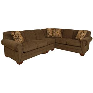 3 Piece Sectional with LAF Sofa