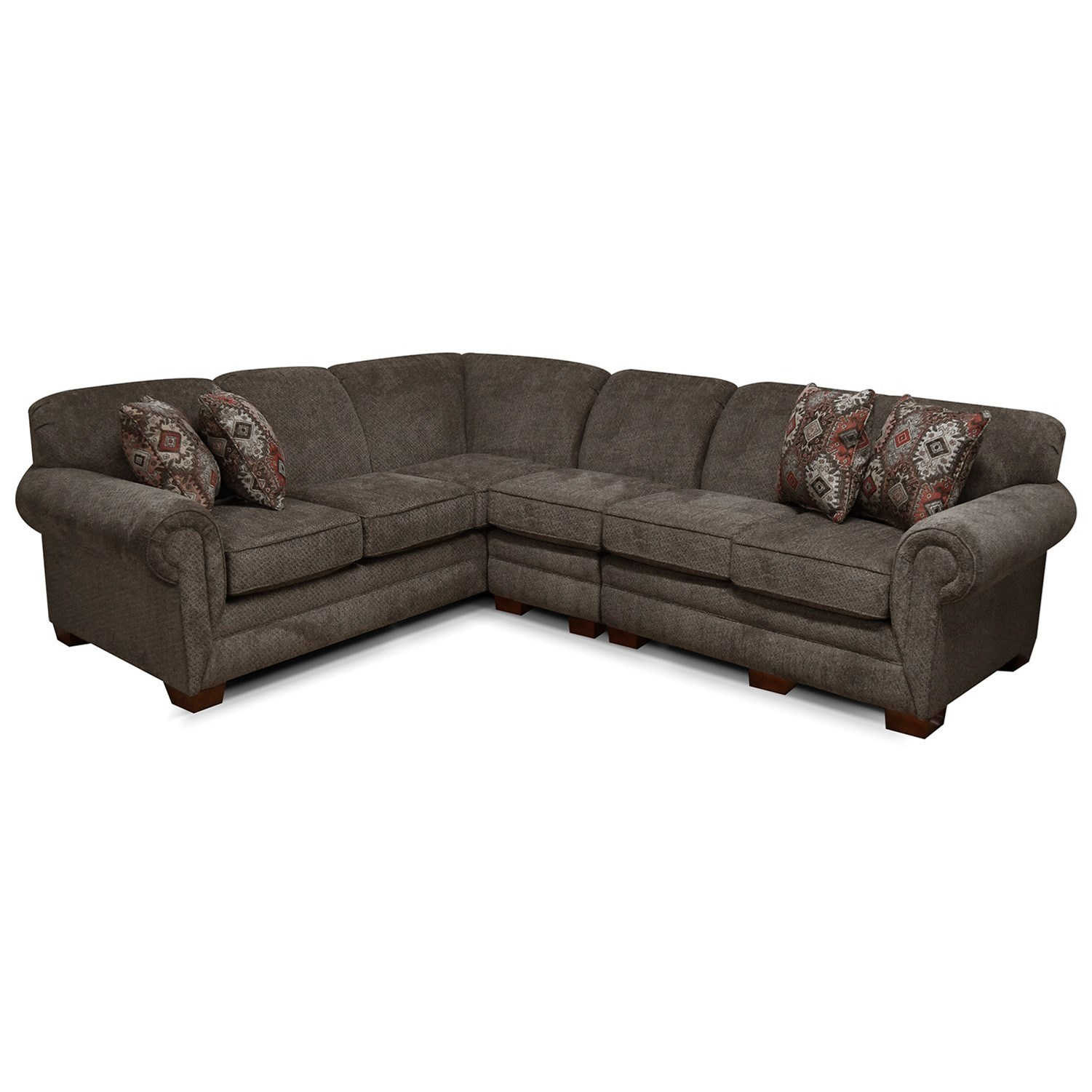 Monroe Sectional by England at H.L. Stephens