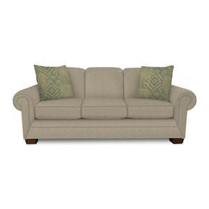 Traditional Stationary Sofa