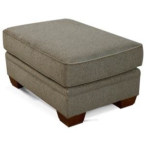 Traditional Upholstered Ottoman