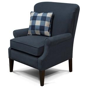 Transitional High Leg Chair