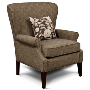 Transitional High Leg Chair