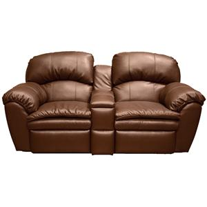 England Oakland Double Reclining Loveseat Console