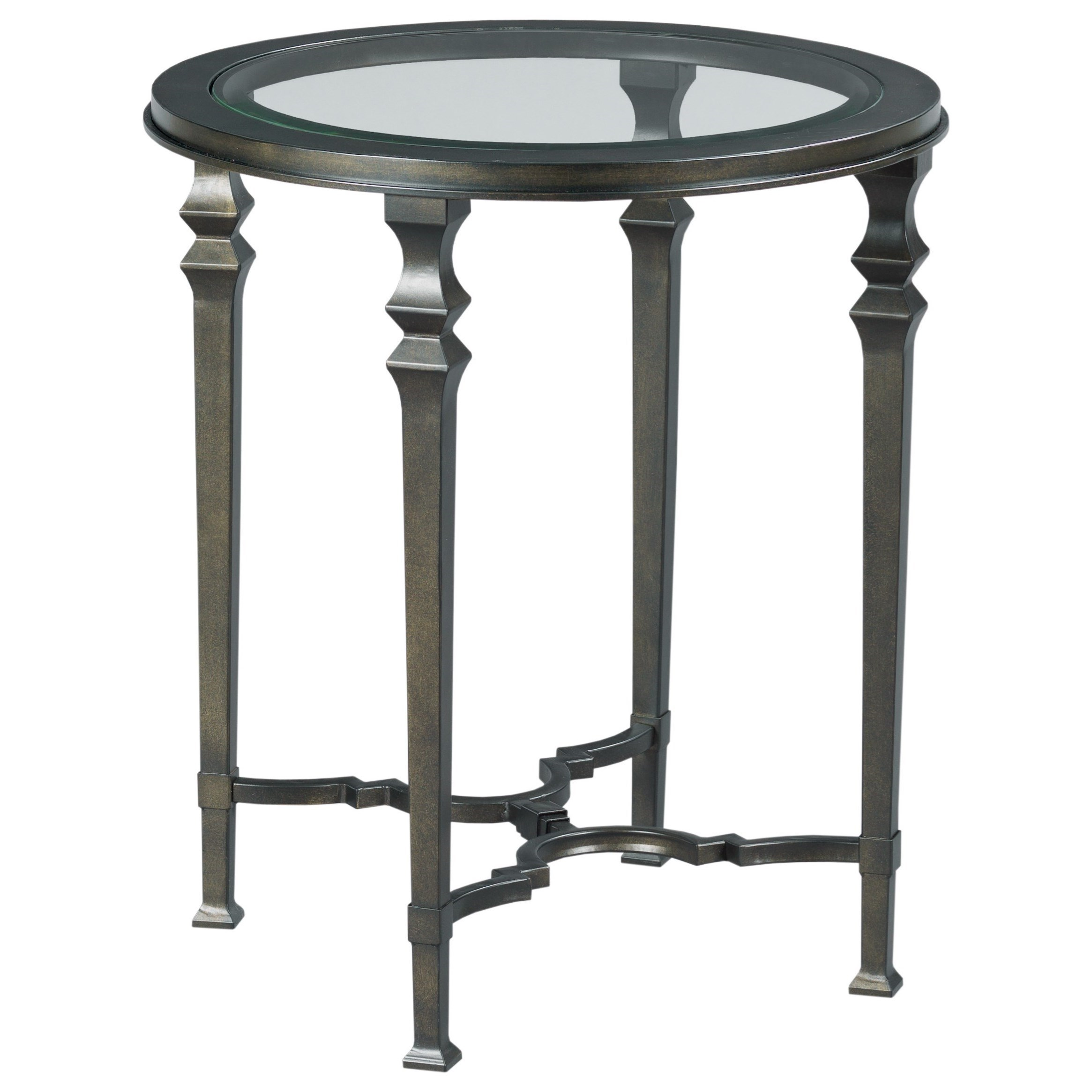 Paragon Round End Table by England at H.L. Stephens