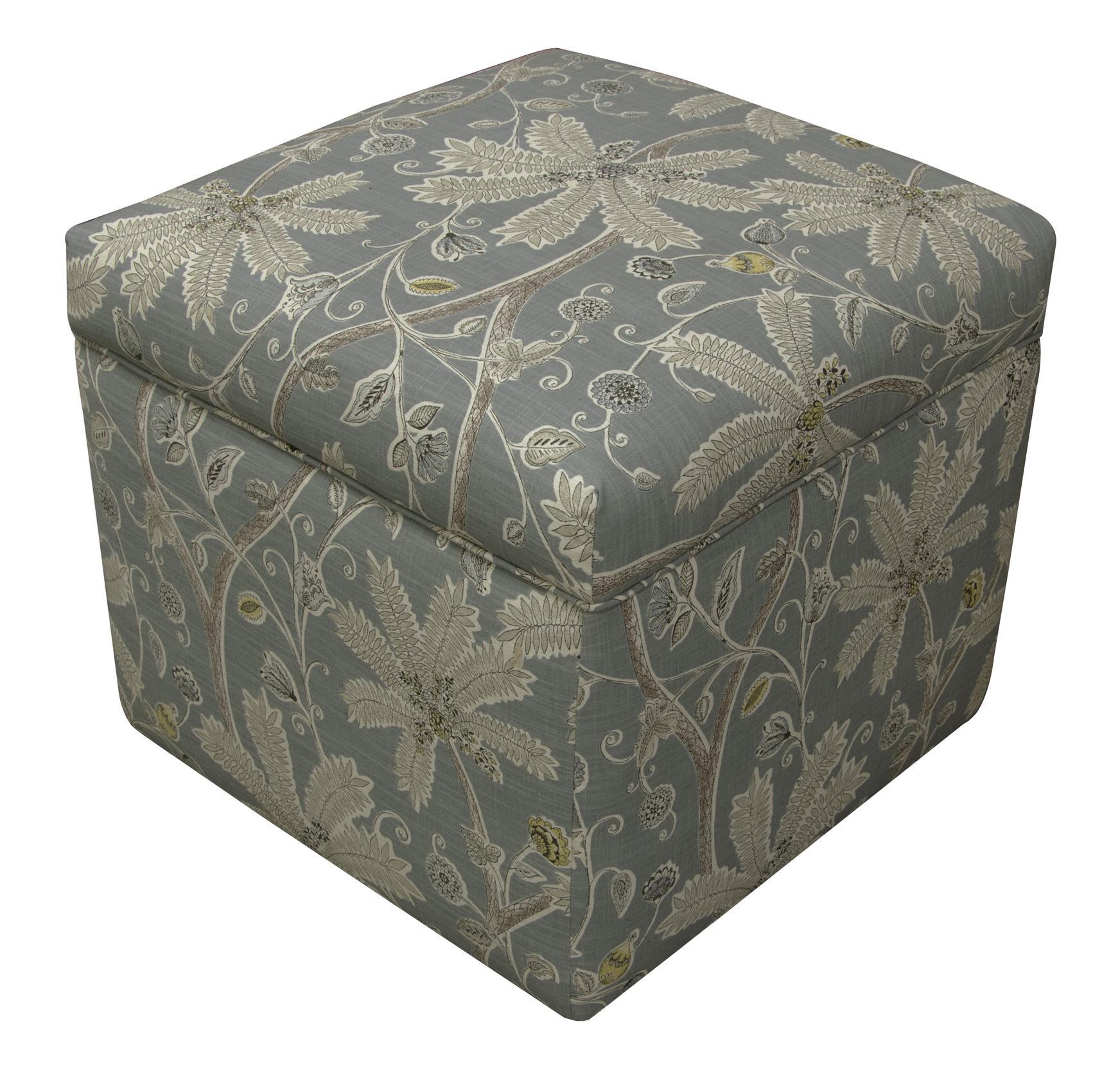 Parson Storage Ottoman by England at Suburban Furniture