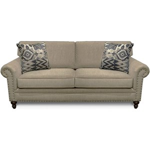 Traditional Sofa w/ Nail Head Trim