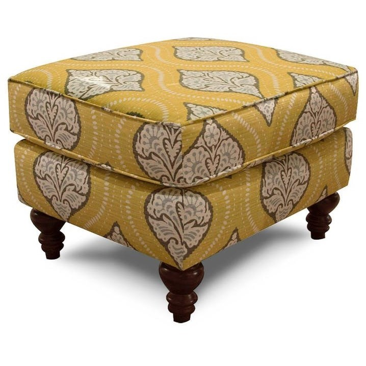 Renea Traditional Ottoman by England at Lapeer Furniture & Mattress Center
