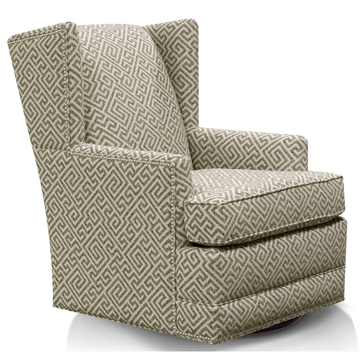 Reynolds Swivel Chair by England at EFO Furniture Outlet