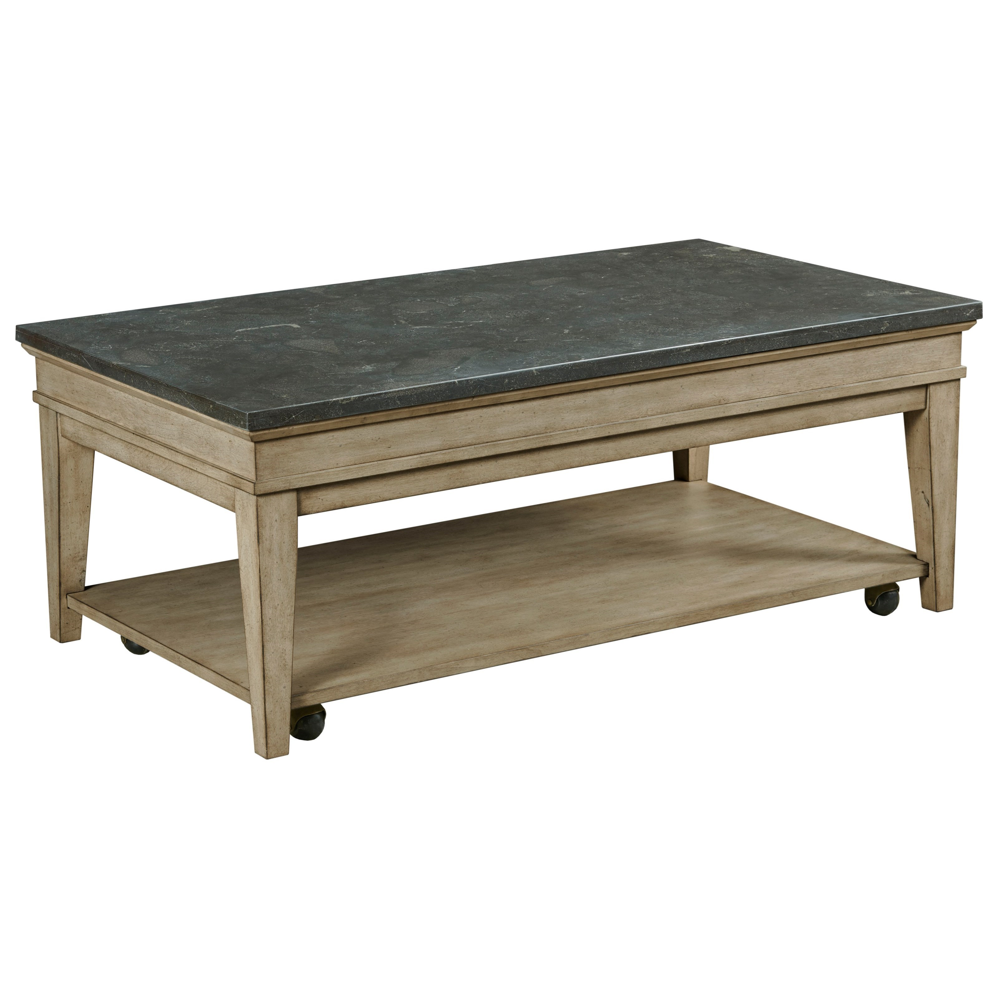 Riverstone Rectangular Cocktail Table by England at Sadler's Home Furnishings