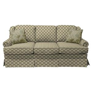 Visco Mattress Queen Size Sleeper Sofa with Traditional Style