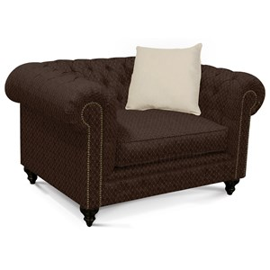 Chair with Chesterfield Style