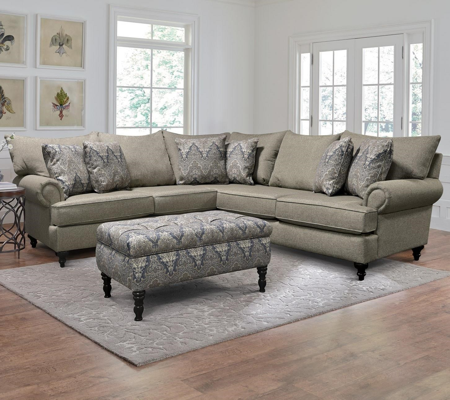 Rosalie Sectional Sofa by England at VanDrie Home Furnishings