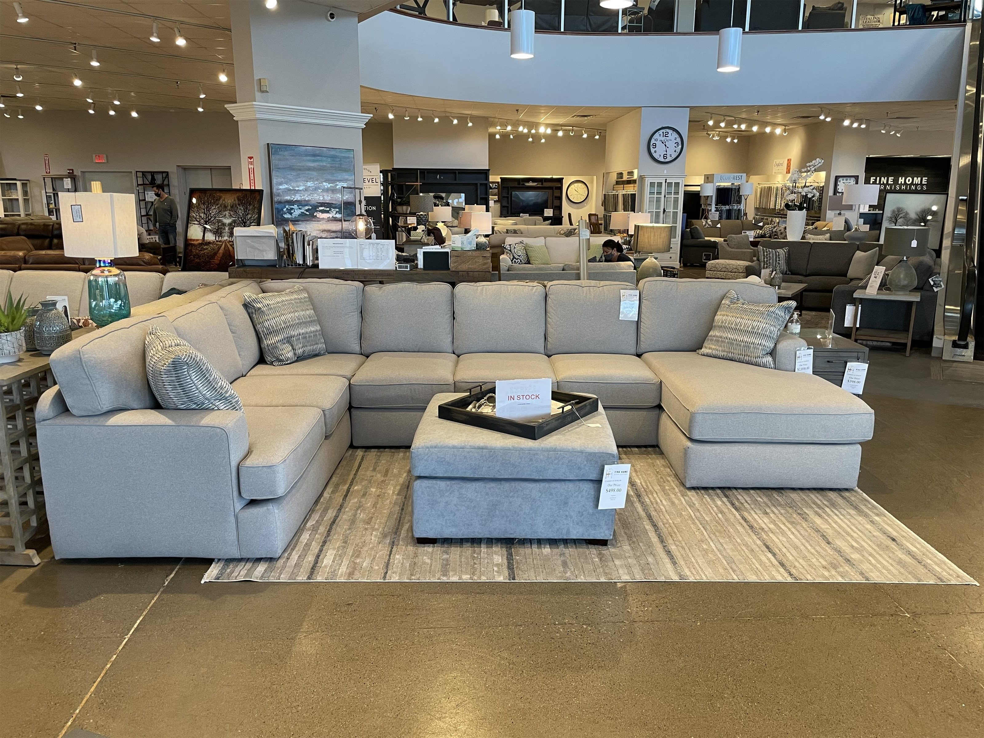 Rouse 4-Piece Sectional by England at Fine Home Furnishings