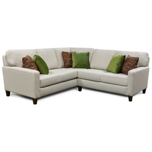 Contemporary 2-Piece Sectional