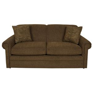 Air Full Size Sleeper Loveseat with Traditional Furniture Style