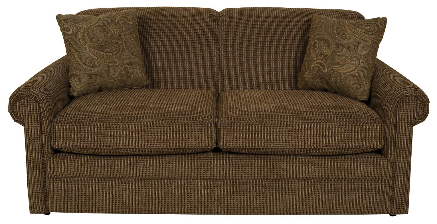 Savona Visco Full Sleeper Loveseat by England at Gill Brothers Furniture